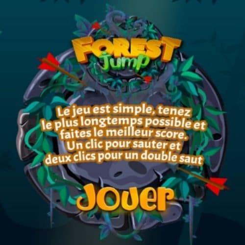 Jeu de plateforme : Forest Gump